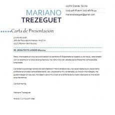 Carta de presentación personal