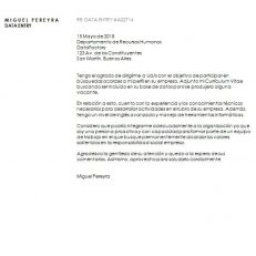 Formato de carta de presentación empresarial