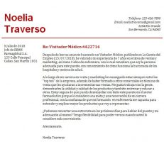 Plantilla de carta de presentación para empresa